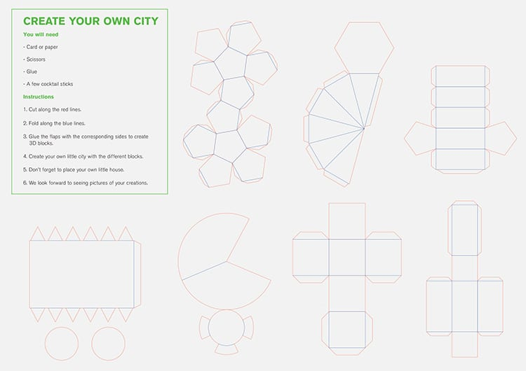 Build Your Own City Instructions from Foster + Sons