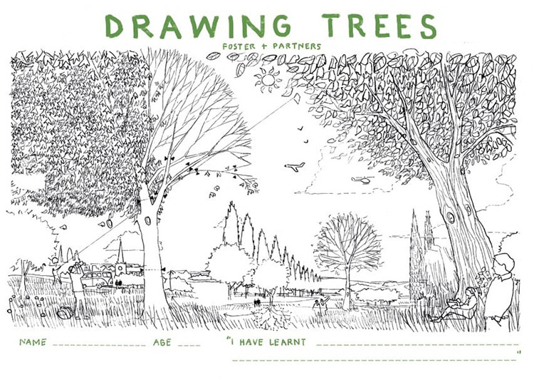 How to Draw a Tree Instructions from Foster + Sons