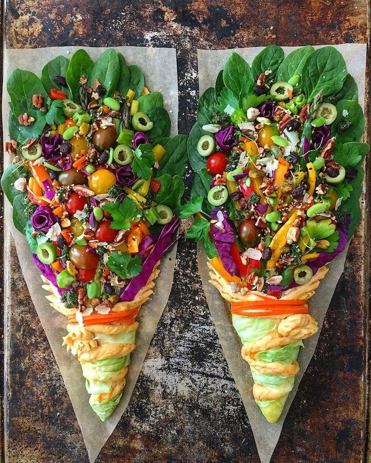 que hacer con las sobras de verduras Blondie + Rye