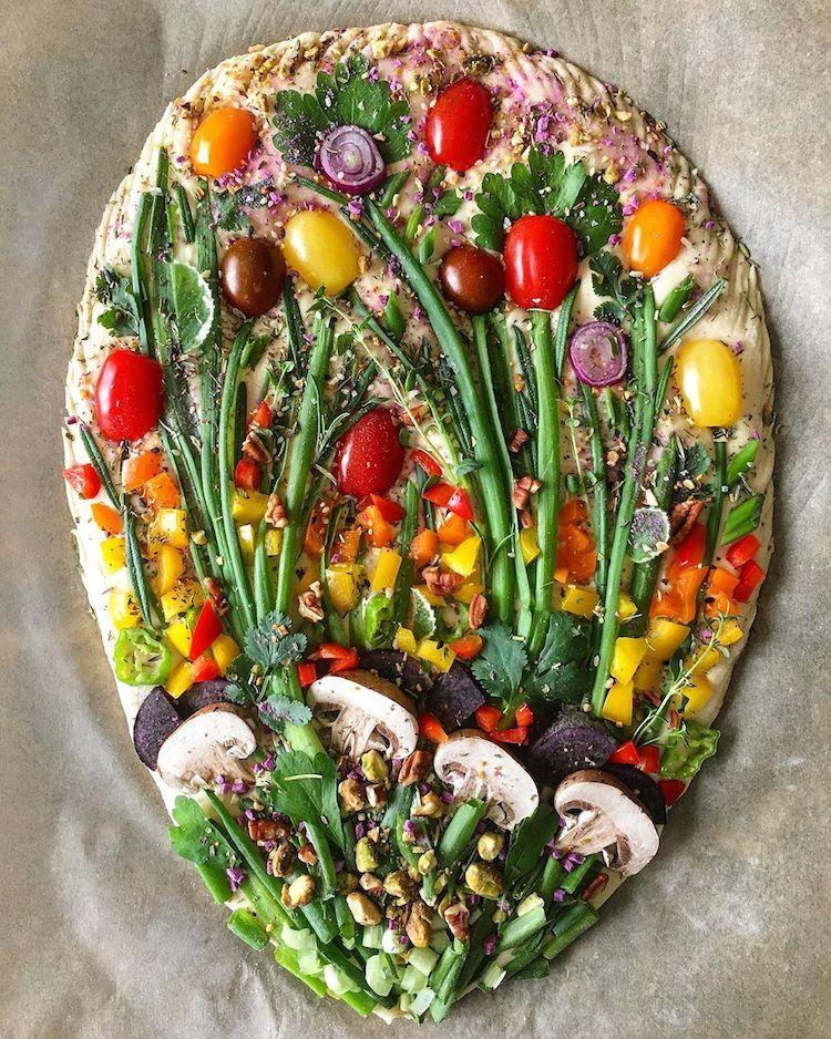 arte con comida Blondie + Rye