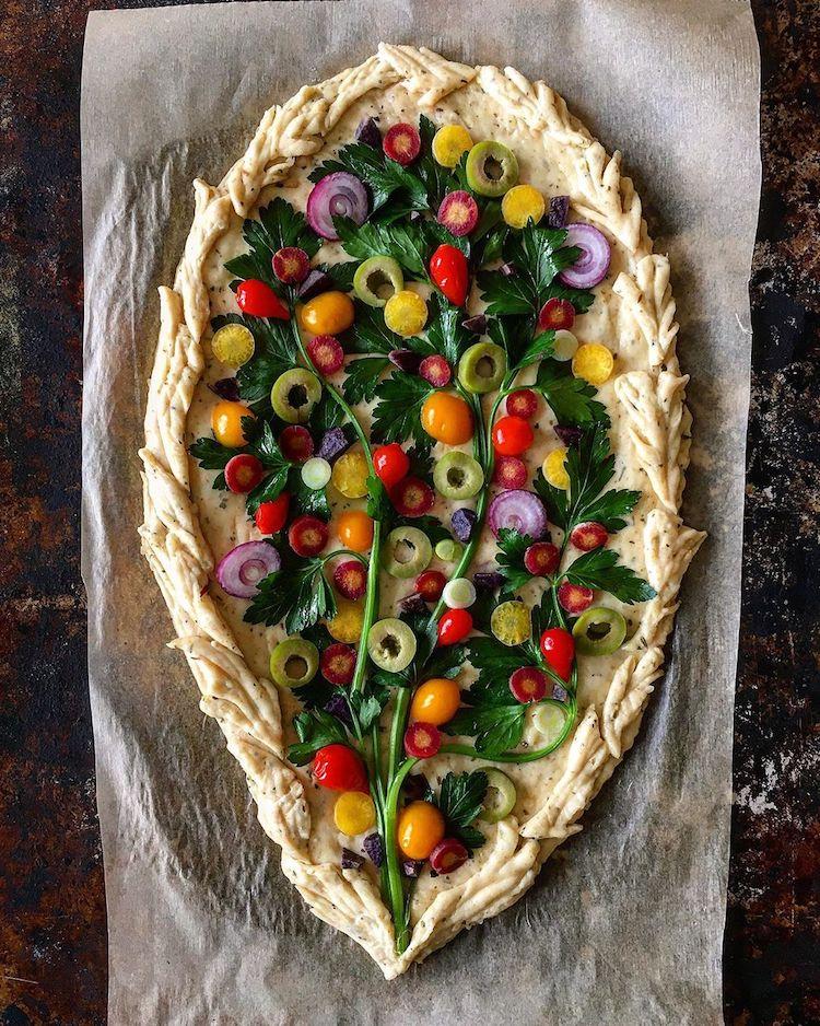 arte con verduras Blondie + Rye