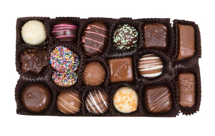 Box of Handmade Chocolates