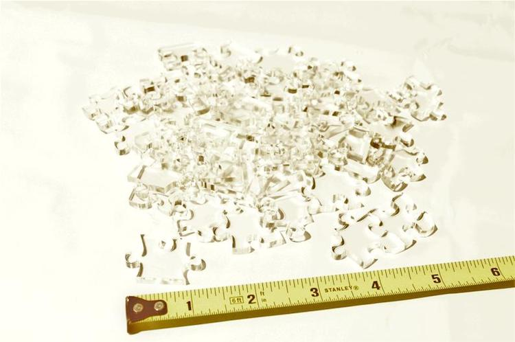 Clear Jigsaw Puzzle by Little Flower Pot Shop
