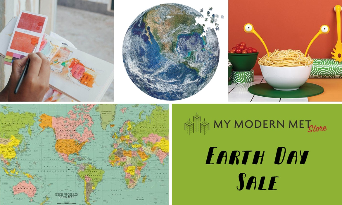 Earth Day Sale at My Modern Met Store