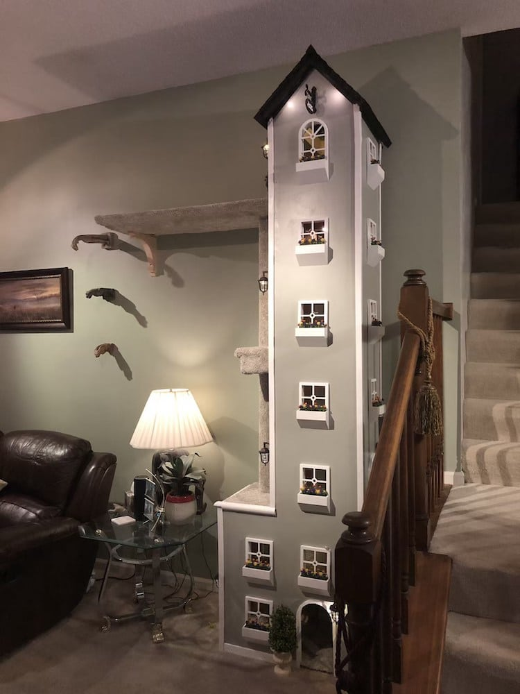 Extra Tall Cat Tower