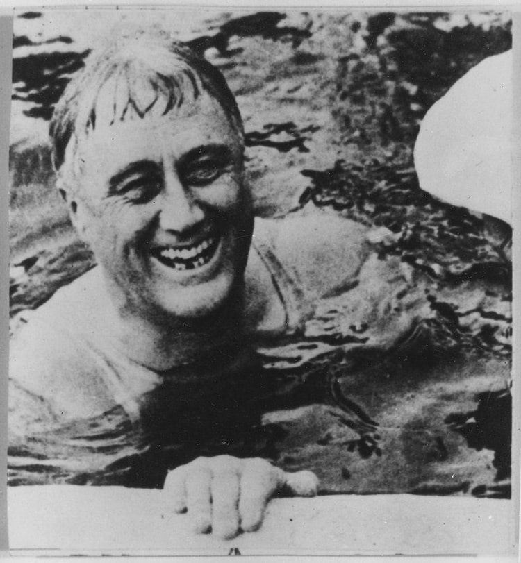 FDR Visting Warm Springs, GA in 1930