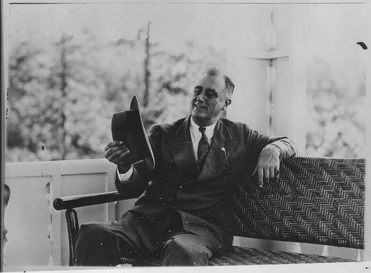 FDR Visits Warm Springs, GA in 1932