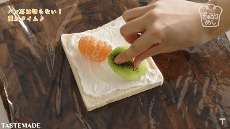 Fruit Flower Sandwiches by Tastemade Japan