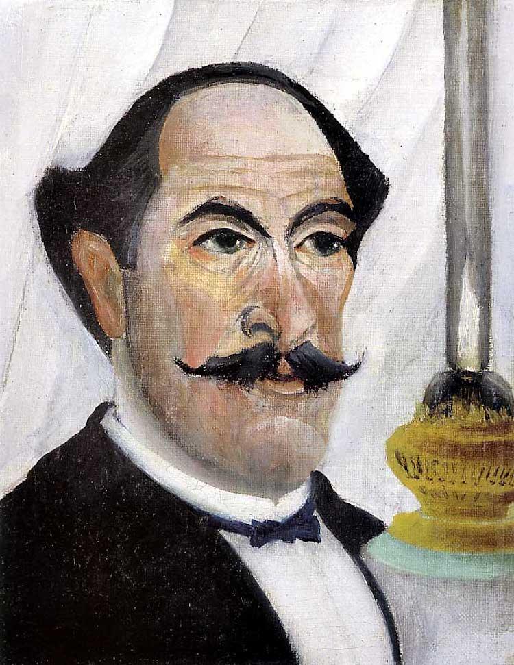 Self Portrait of Henri Rousseau