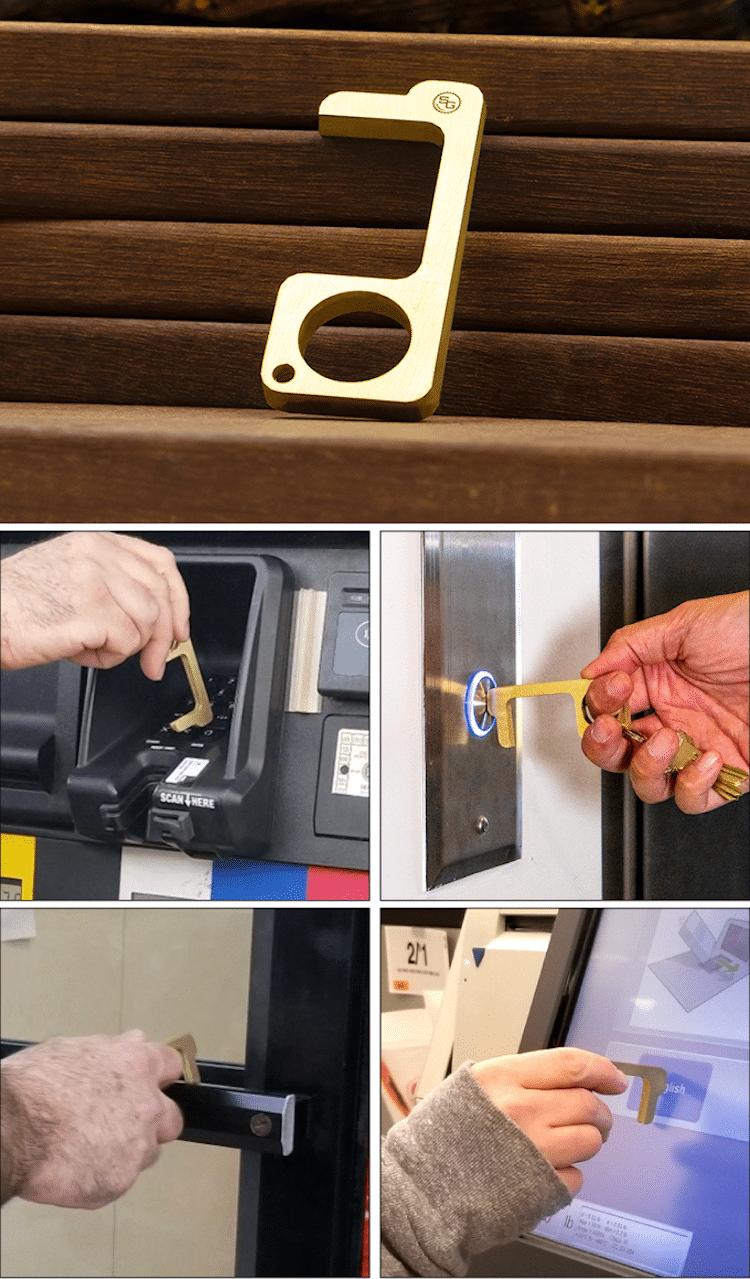 Hygiene Hand (o mano higiénica) de StatGear