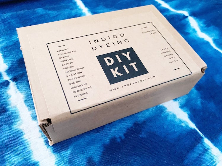 Indigo Dyeing Kit by Shop Adroit