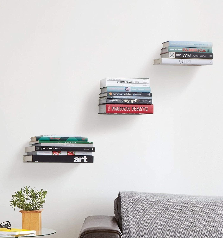 Floating Bookshelves