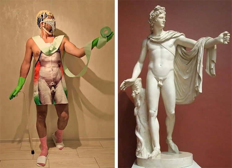 Recreating Famous Artworks