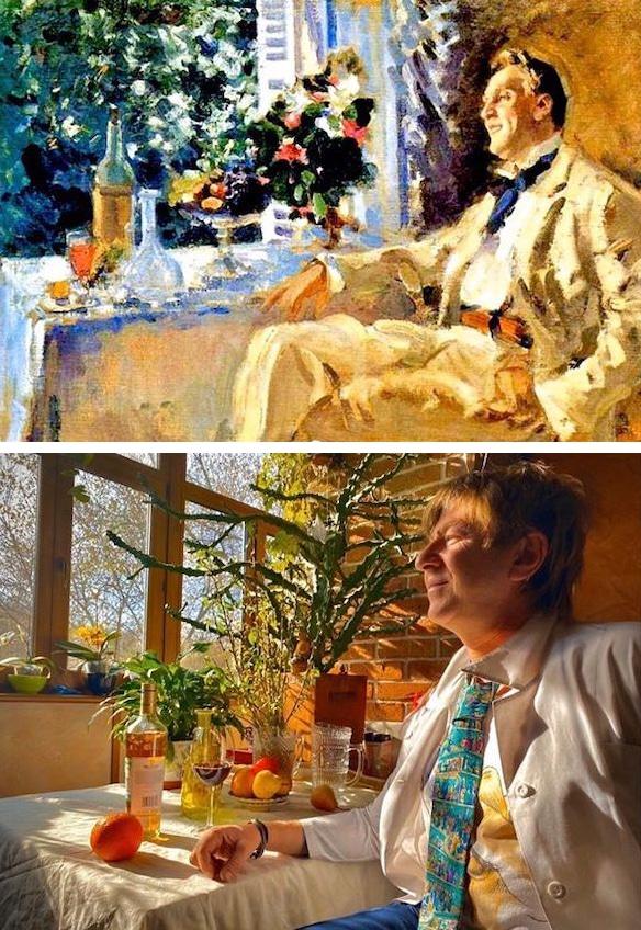 Recreaciones de arte durante la cuarentena