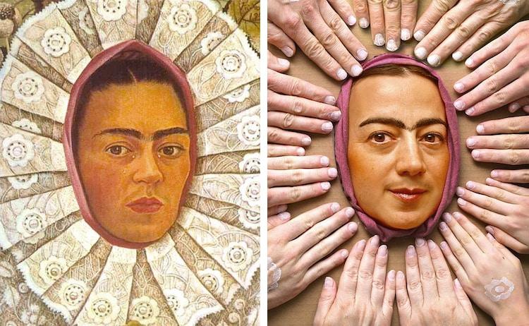 Recreaciones de obras de arte famosas