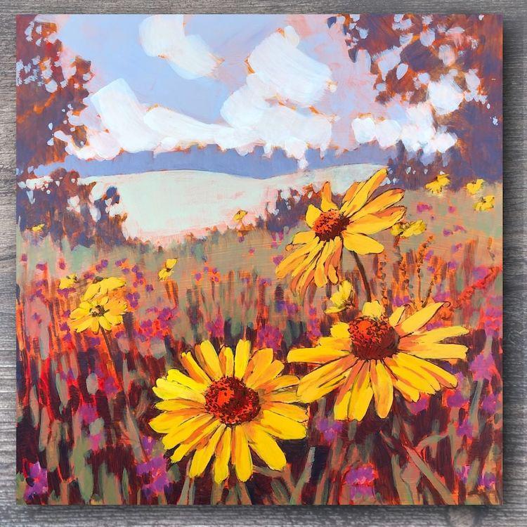pinturas de paisajes por Jim Musil