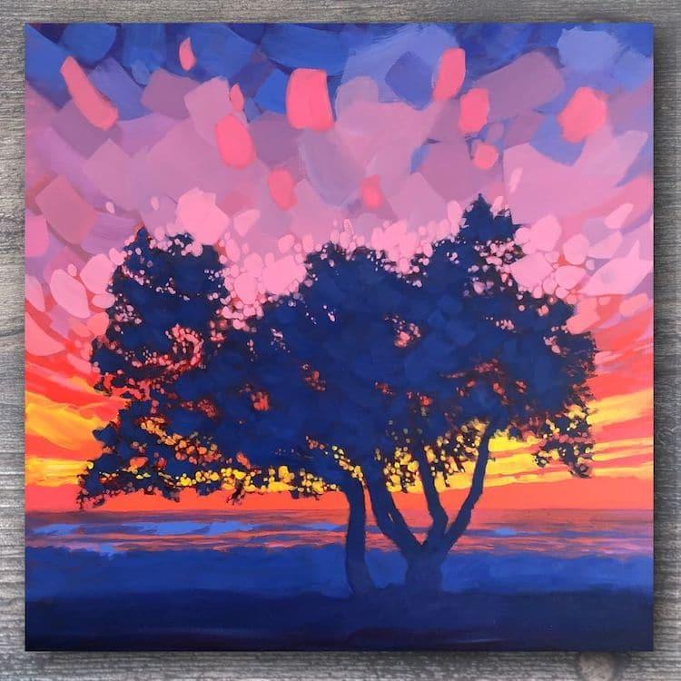 Peinture de paysage par Jim Musil