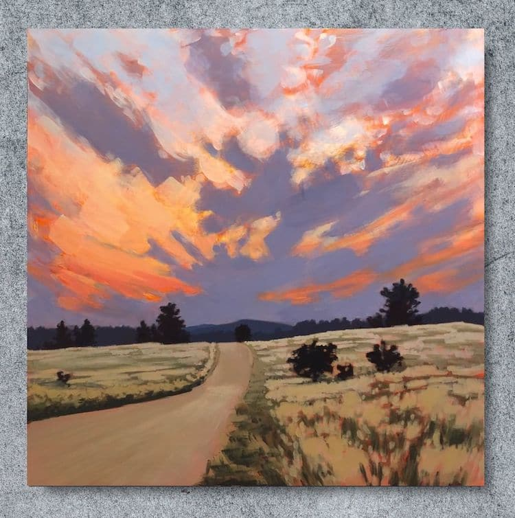 Landscape Painting by Jim Musil
