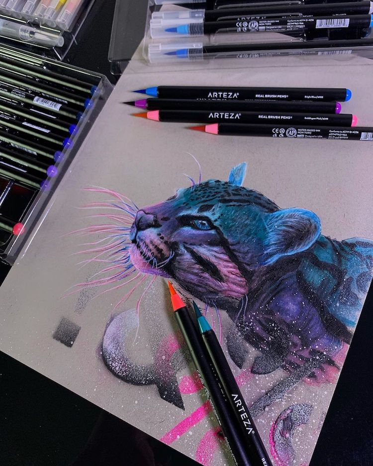 Ocelot Illustration by Jonathan Martinez