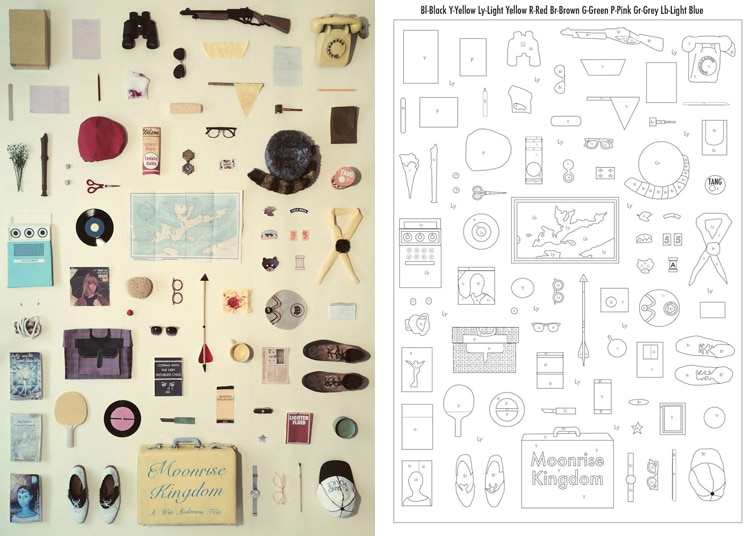 Free Printable Coloring Sheets Inspired by Objects in Iconic Films
