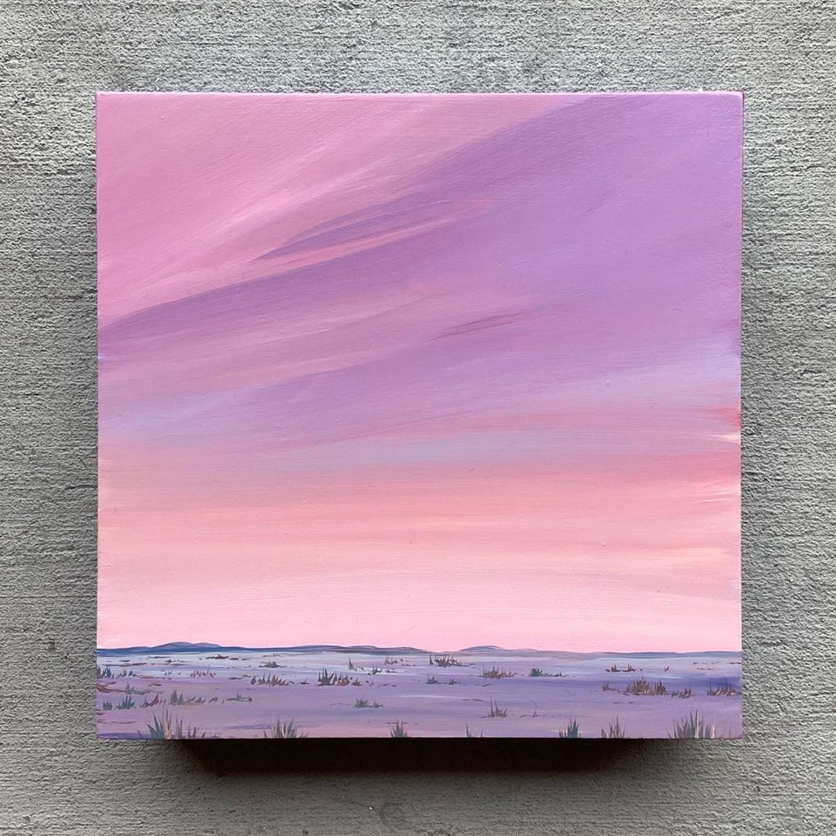 Western Landscape Painting by Kristin Moore