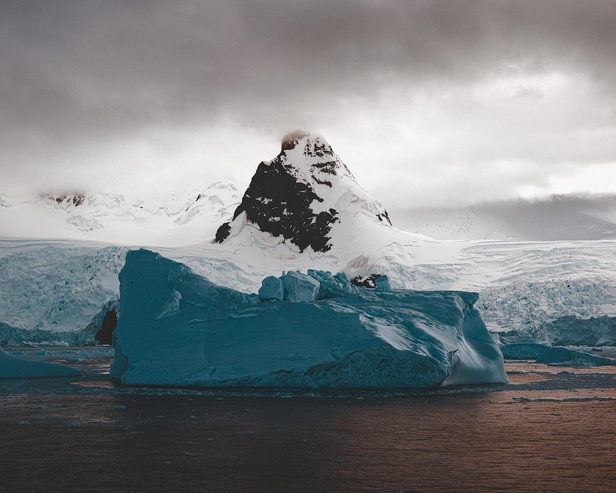 Iceberg in Cierva Cove in Antarctica