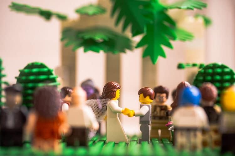 Fotos con minifiguras de LEGO