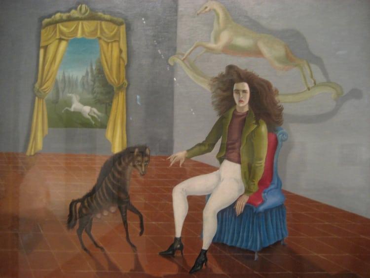 leonora carrington autorretrato