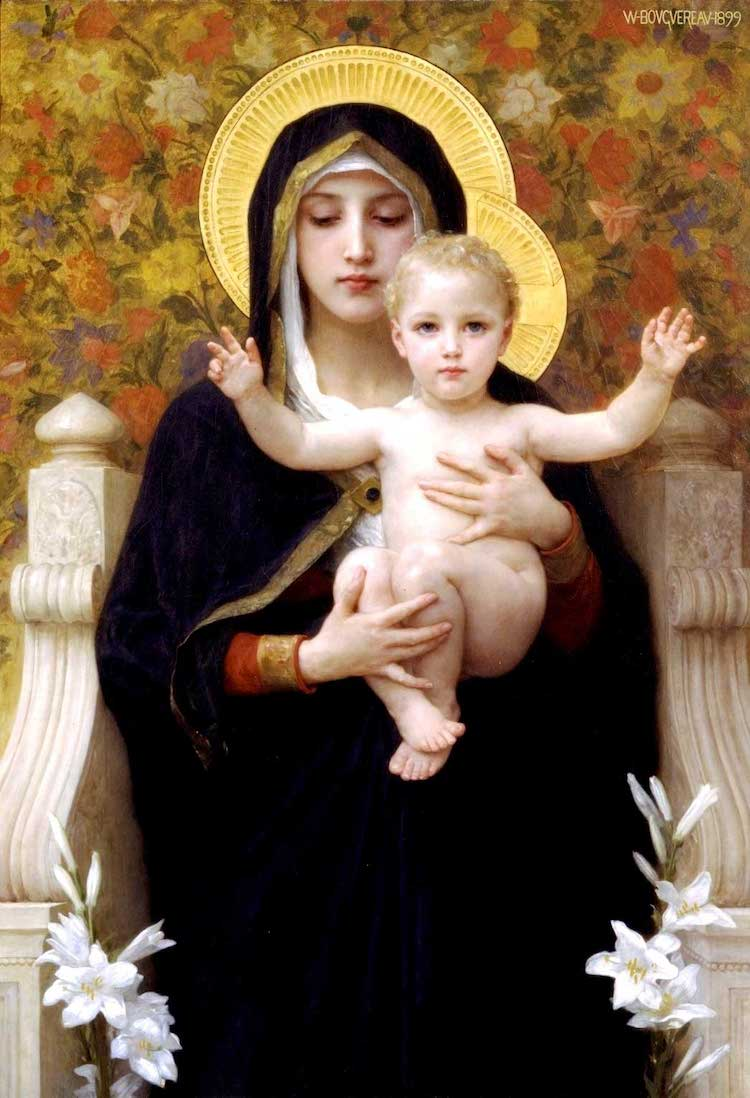 Neo-Classical Madonna and Child