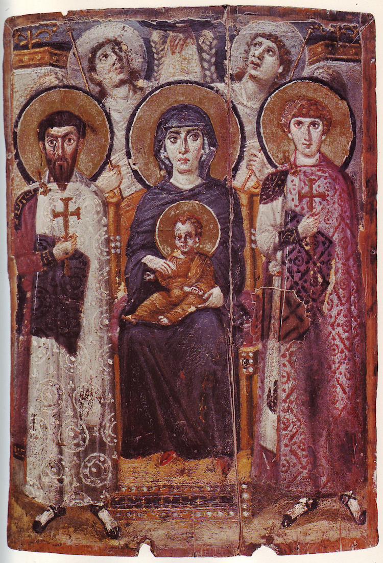 Byzantine Madonna and Child