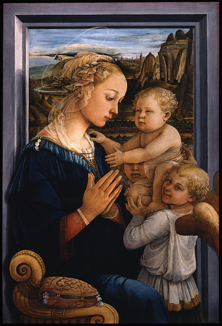 Early Renaissance Madonna and Child