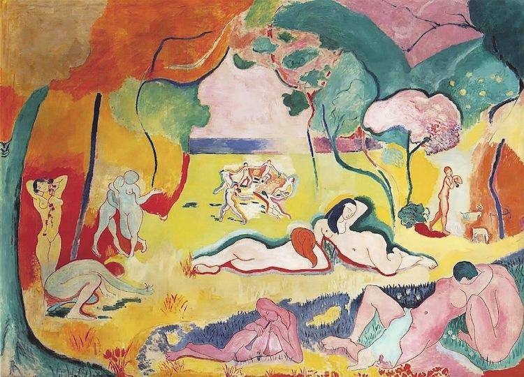 Le bonheur de vivre (La alegría de vivir) de Henri Matisse