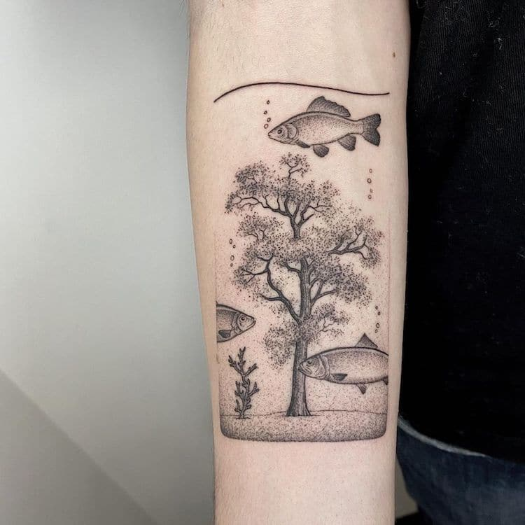 Surreal Tattoo by Michele Volpi