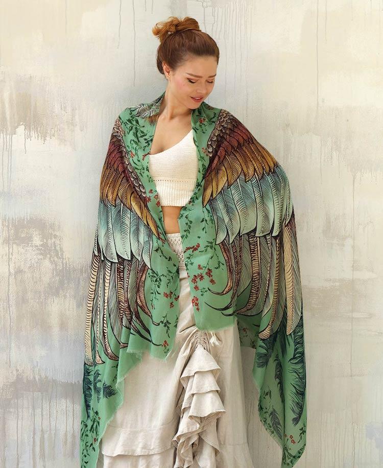 Bird Shawl