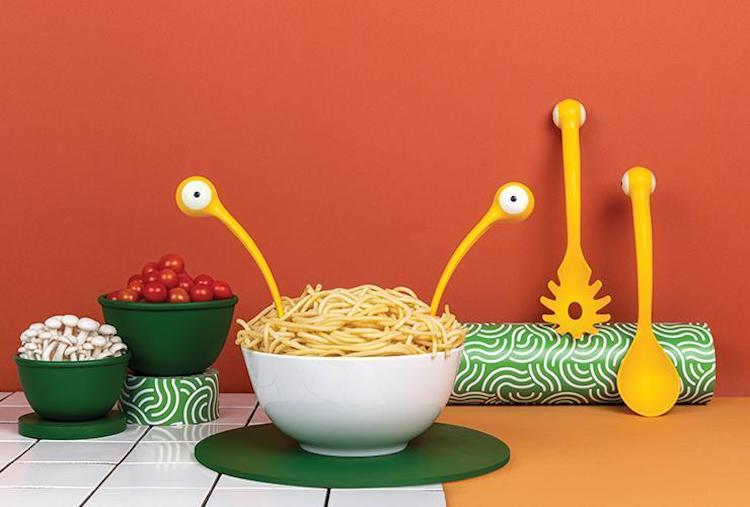 Monster Pasta Serving Spoons by OTOTO Design