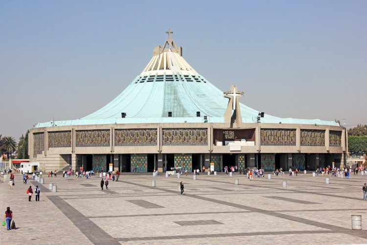 basilica de guadalupe pedro ramirez vazquez