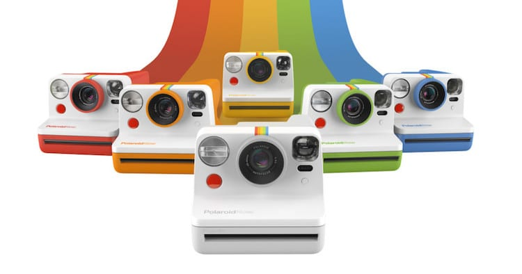 Polaroid Now Instant Camera in Different Colors