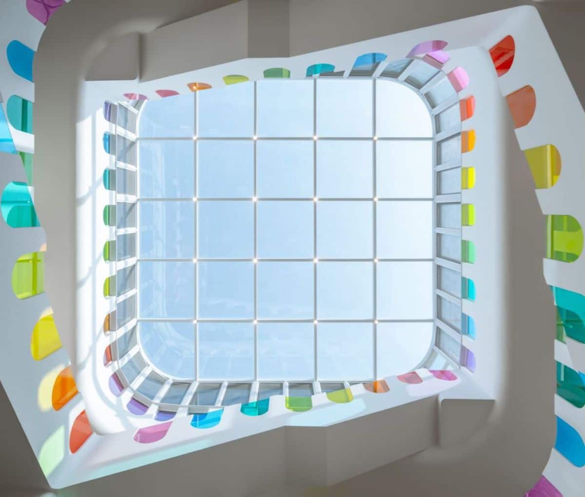 Skylight at Rainbow Kindergarten in China