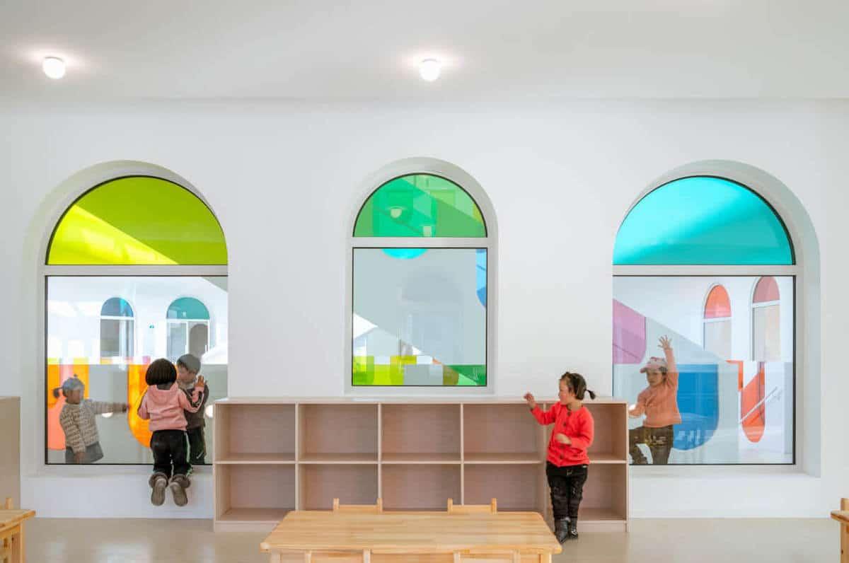 arquitectura de escuelas en china