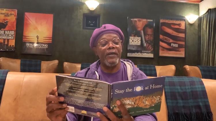 Samuel L. Jackson Reading a Funny Poem