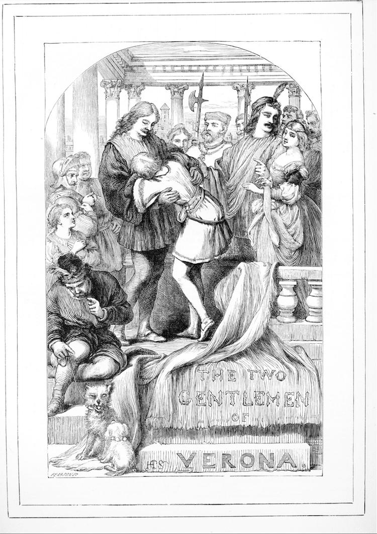 William Shakespeare Coloring Book