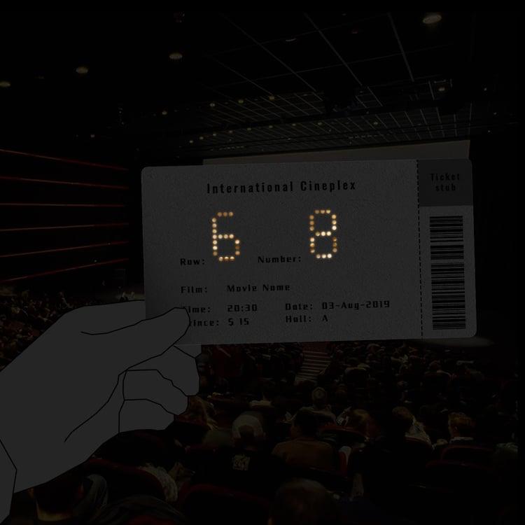 Shiny Movie Ticket by Li Peitong