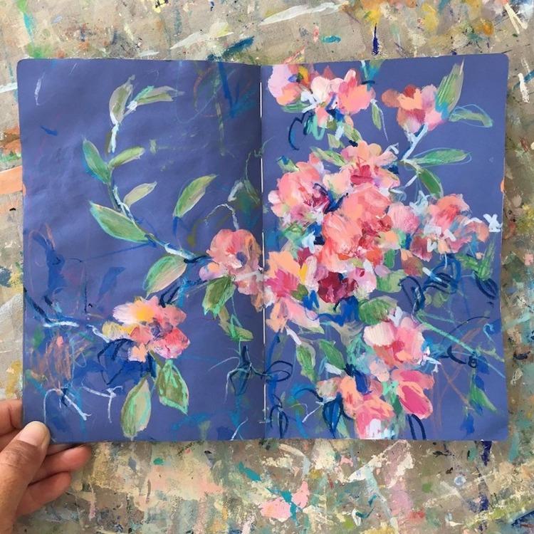 Sketchbook Paintings by Sonal Nathwani