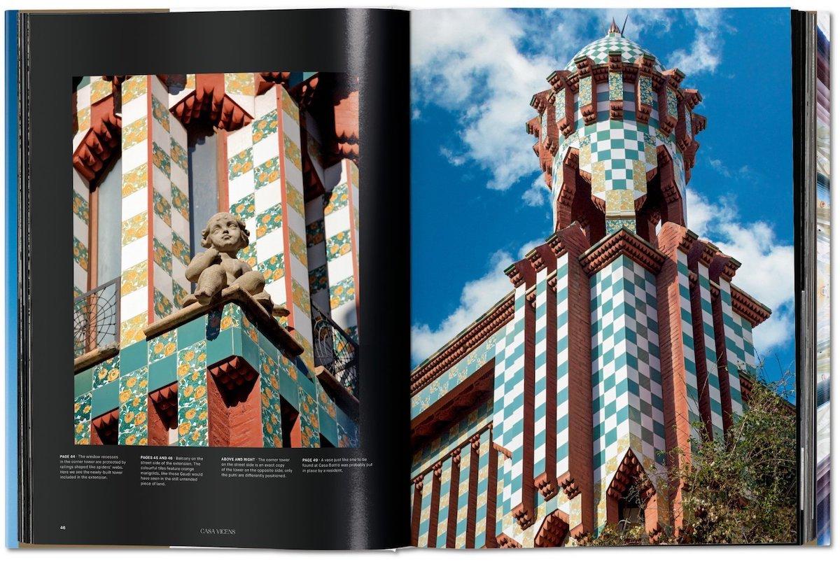 gaudi libro de arquitectura