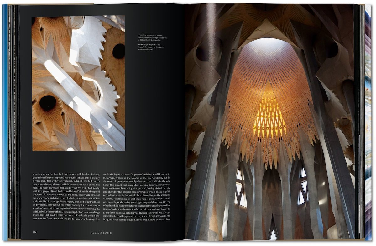 Page Layout of Gaudi. The Complete Works