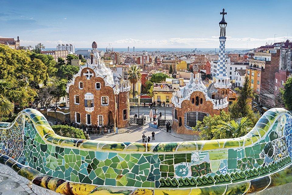 Park Güell by Antoni Gaudi