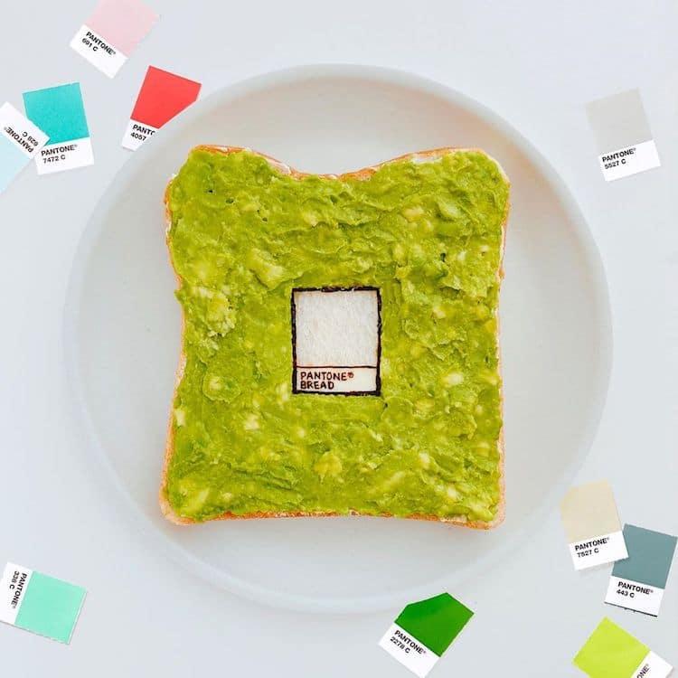 Toast Art by Manami Sasaki