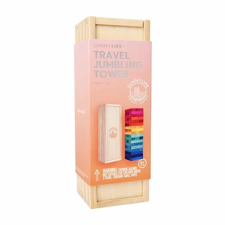 Travel Jumbling Tower by Sunnylife