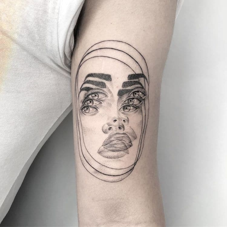 Double Vision Tattoos