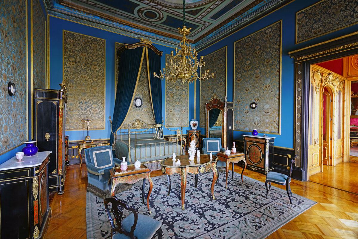 Habitación de estilo victoriano en el Castillo de Chapultepec